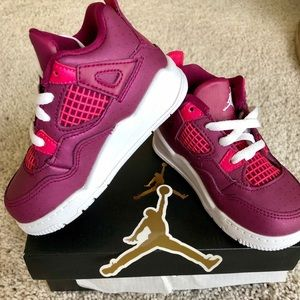 Jordan 4 Retro (TD) New in Box